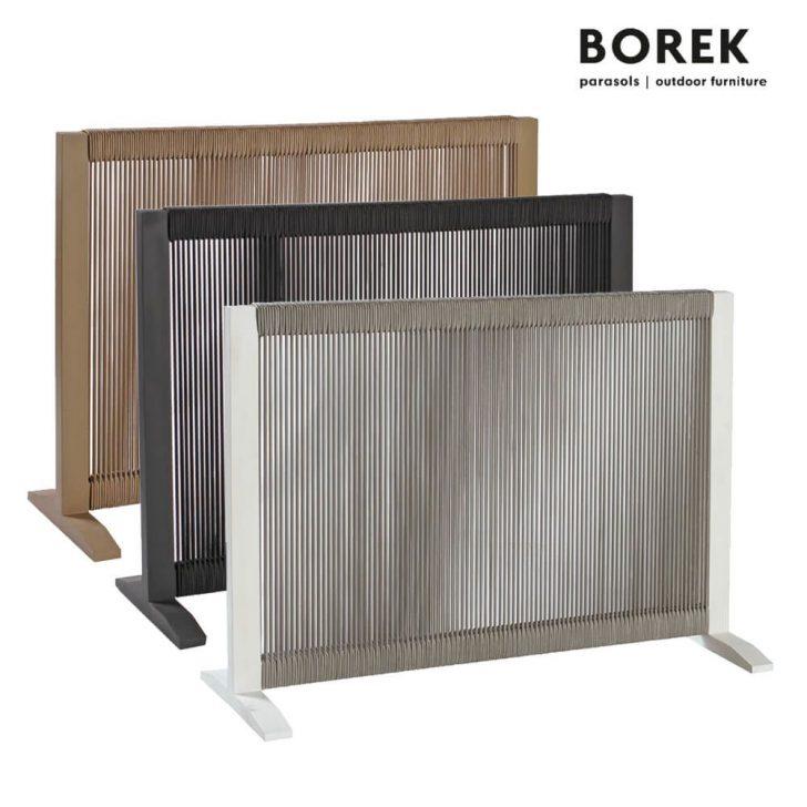 Medium Size of Paravent Balkon Borek Raumteiler Ponza Aluminium Beige Garten Wohnzimmer Paravent Balkon