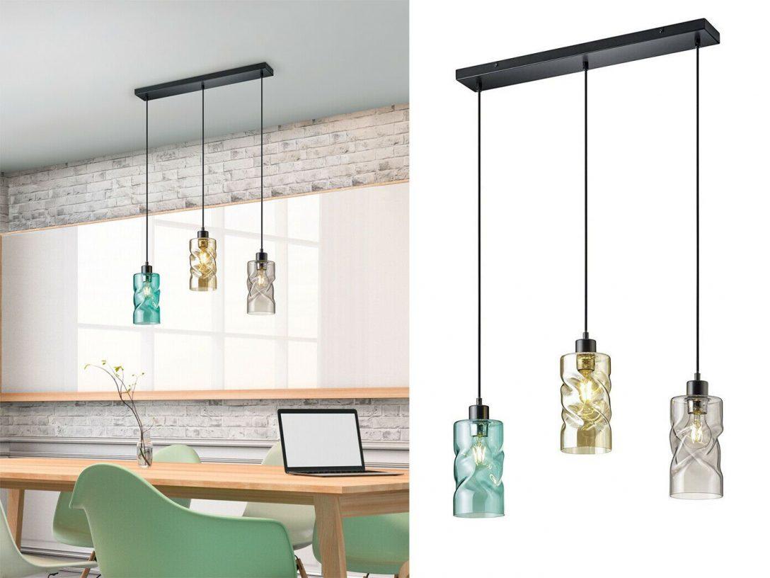 Large Size of Küchenlampen Details Zu Rauchglas Kchenlampen Hngend Fr Ber Esstischlampe Wohnzimmer Küchenlampen