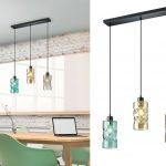 Thumbnail Size of Küchenlampen Details Zu Rauchglas Kchenlampen Hngend Fr Ber Esstischlampe Wohnzimmer Küchenlampen