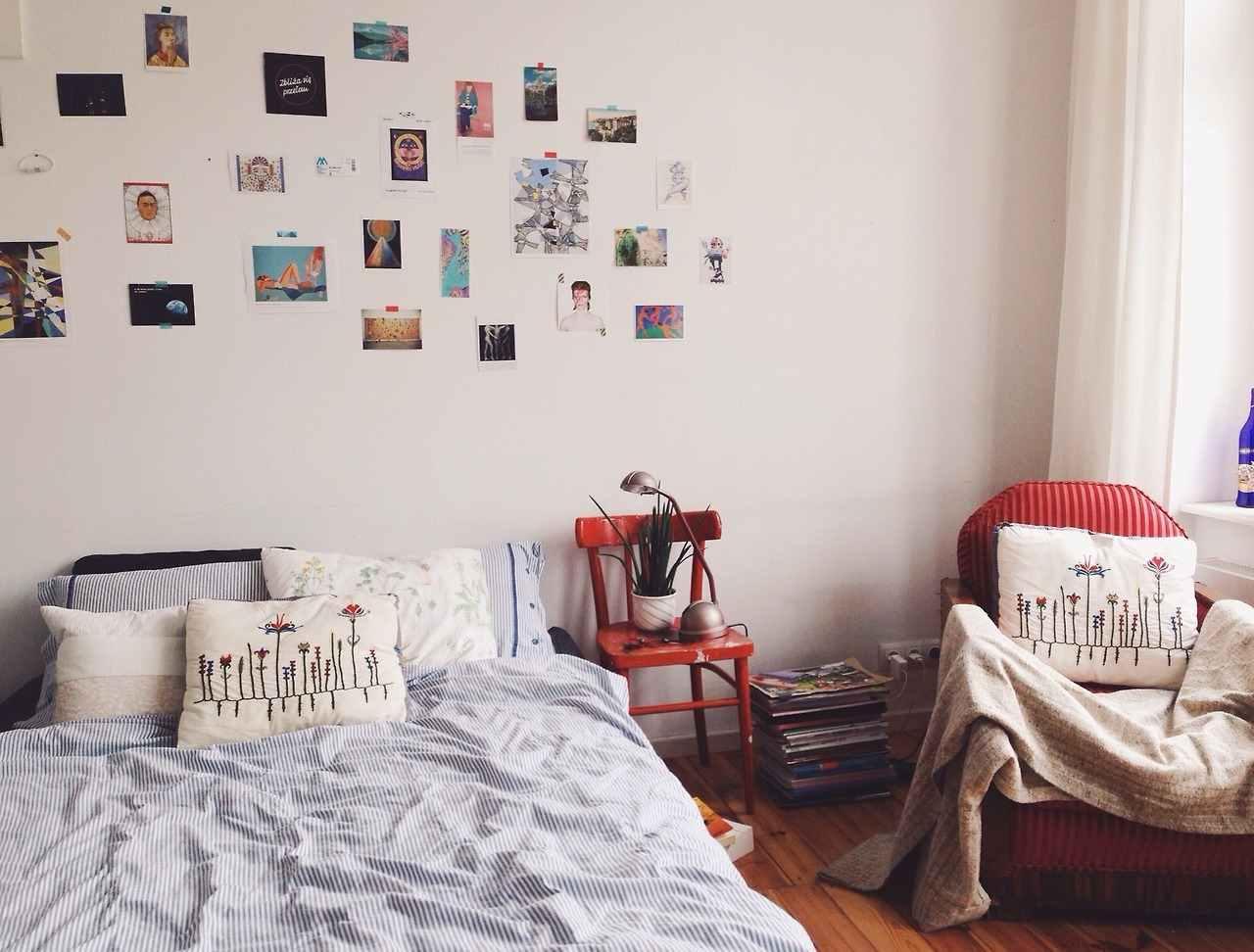 Full Size of Tumblr Zimmer Inspiration 50 Tolle Schlafzimmer Deko Ideen Fr Mit überbau Schranksysteme Komplette Massivholz Sessel Teppich Deckenlampe Vorhänge Regal Wohnzimmer Schlafzimmer Dekorieren