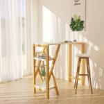 Küchentheke Wohnzimmer Küchentheke Sobuy Fwt56 W Design Bartisch Stehtisch Bartresen Kchentheke