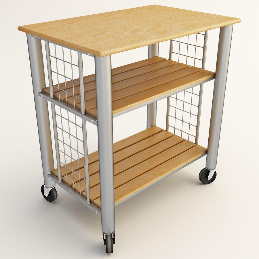 Full Size of Rollende Kchenwagen 3d Modell 49 Mac4d Ma Obj 3ds Ikea Miniküche Küche Kaufen Betten Bei 160x200 Kosten Modulküche Sofa Mit Schlaffunktion Wohnzimmer Küchenwagen Ikea