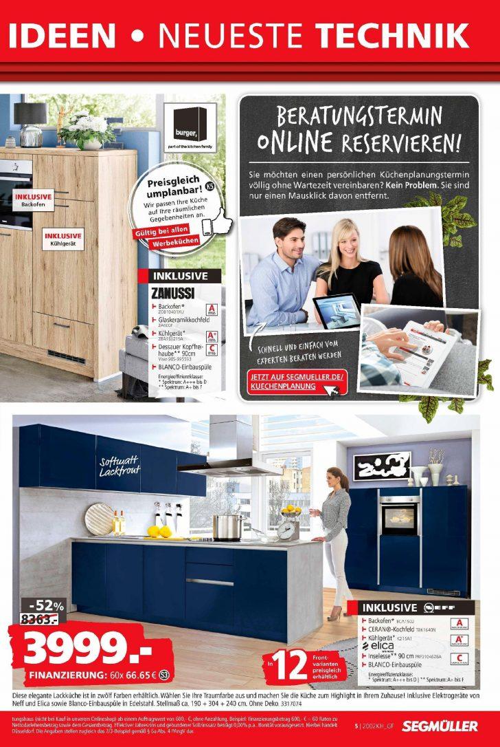 Medium Size of Segmller Kchen Prospekt Prospektangebotede Segmüller Küche Küchen Regal Wohnzimmer Segmüller Küchen