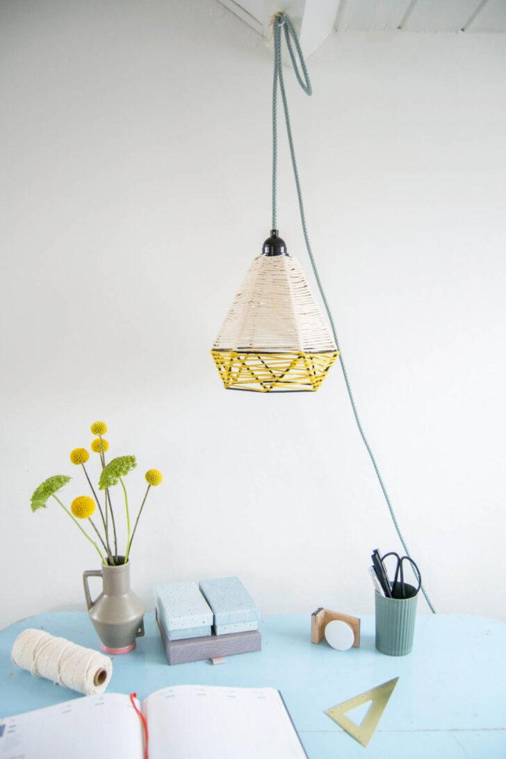 Medium Size of Hängelampen Diy Umwickelte Lampe Mit Kordeln Hngelampen Videotutorial Wohnzimmer Hängelampen