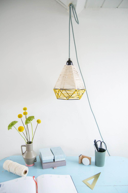Full Size of Hängelampen Diy Umwickelte Lampe Mit Kordeln Hngelampen Videotutorial Wohnzimmer Hängelampen