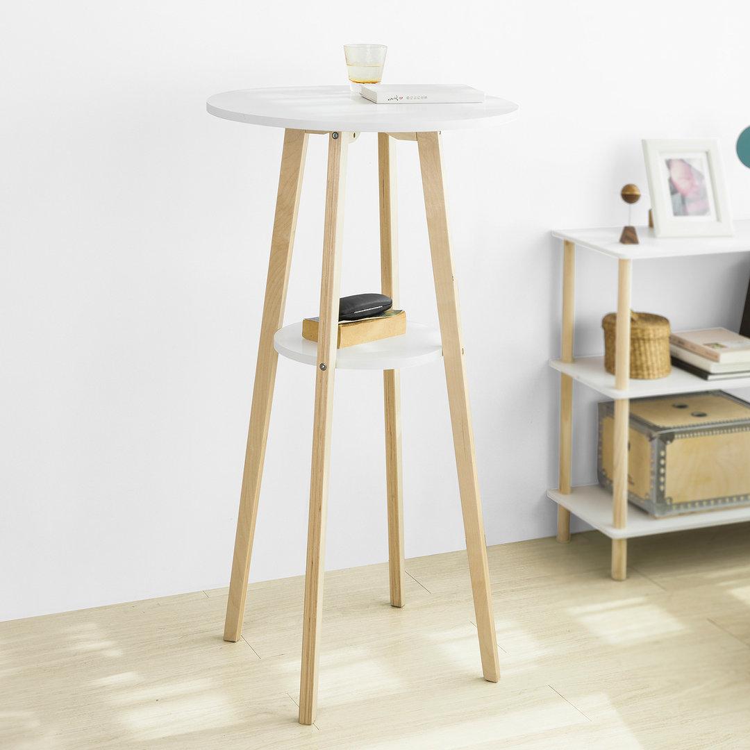 Full Size of Sobuy Fwt58 Wn Bartisch Mit 2 Tischplatten Stehtisch Bartresen Wohnzimmer Küchentheke