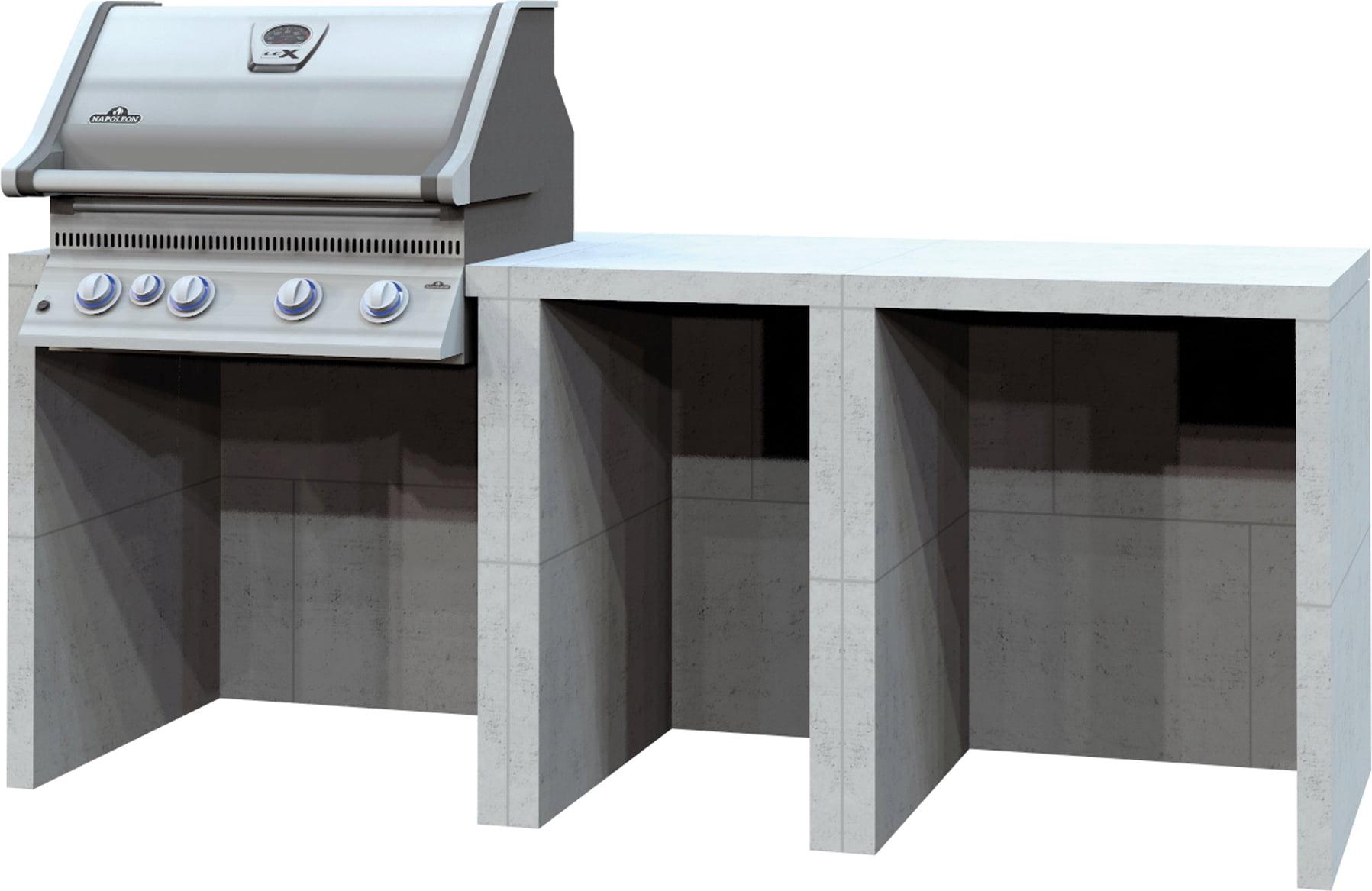 Full Size of Baumgartner Outdoorkche Mit Gasgrill Modul 1 Interismo Onlineshop Industrie Küche Einbau Mülleimer Ikea Kosten Modulküche Jalousieschrank Wohnzimmer Outdoor Küche