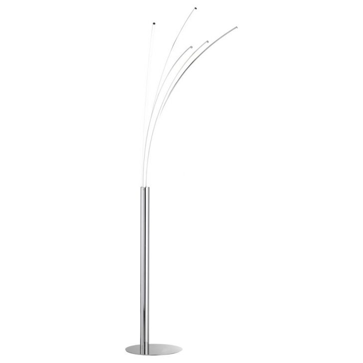 Medium Size of Stehlampe Dimmbar Fnfflammige Stehleuchte Linee Inkl Led Wofi 319405 Wohnzimmer Stehlampen Schlafzimmer Wohnzimmer Stehlampe Dimmbar
