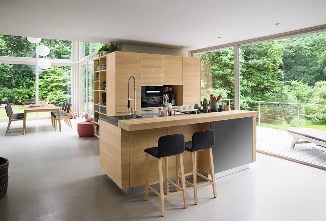 Full Size of Kücheninsel Team 7 Linee Naturholzkche Eine Kche Fast Alles Kann Xxl Wohnzimmer Kücheninsel