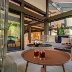 Terrassen Lounge Sofa Garten Loungemöbel Günstig Holz Möbel Set Sessel Wohnzimmer Terrassen Lounge
