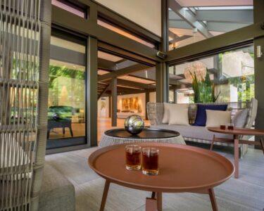 Terrassen Lounge Wohnzimmer Terrassen Lounge Sofa Garten Loungemöbel Günstig Holz Möbel Set Sessel