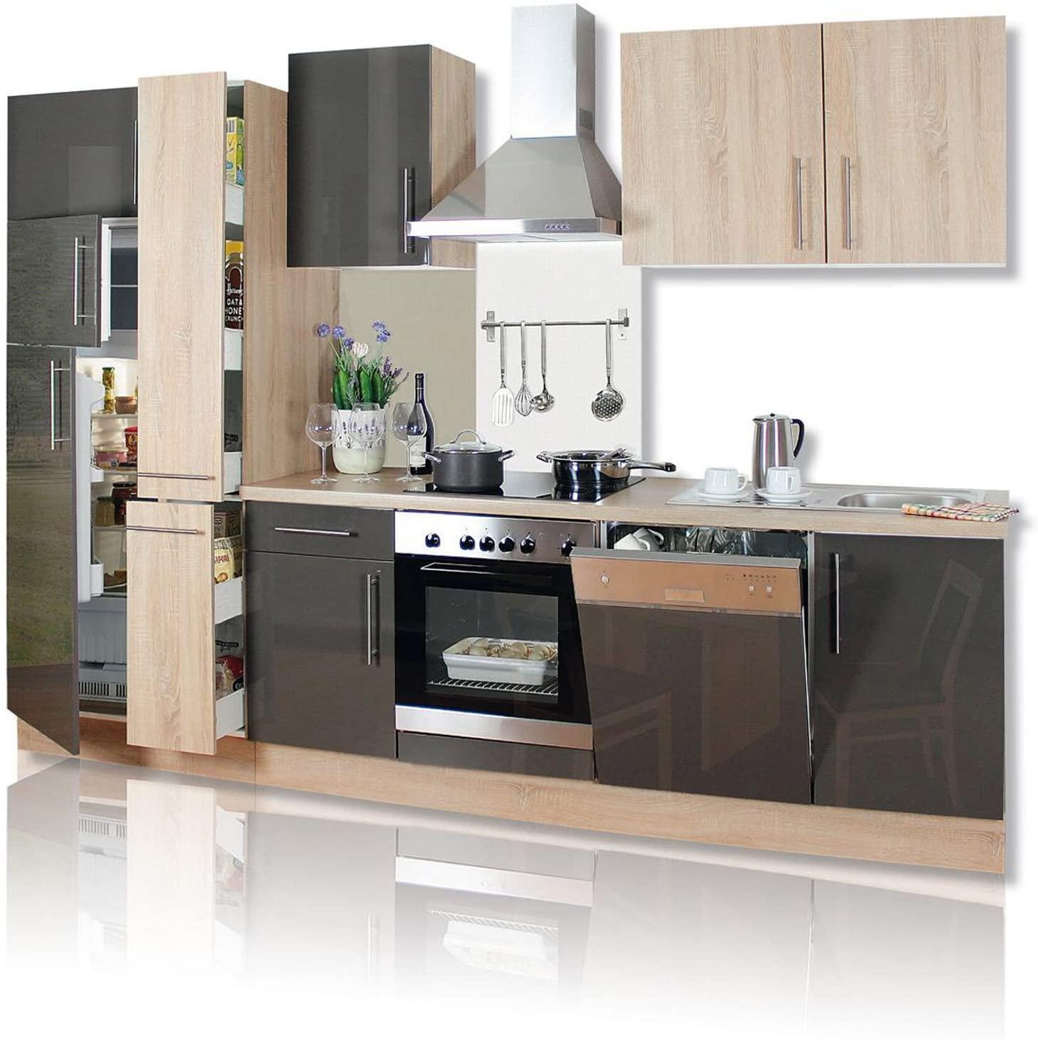 Full Size of Roller Küchen Kchenblock Jana Hochglanz Front Apothekerschrank E Regale Regal Wohnzimmer Roller Küchen