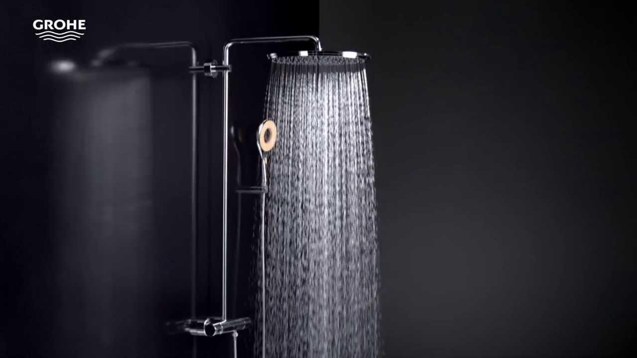 Full Size of Grohe Duschsysteme Fr Jeden Typ Passende Dusche Youtube Glaswand Begehbare Ebenerdig Eckeinstieg Haltegriff Fliesen Wand Bodengleiche Einbauen Bodenebene Dusche Grohe Dusche