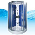 Dusche 80x80 Dusche Acquavapore Dtp8046 0212 Dusche Dampfdusche Duschtempel Abfluss Mischbatterie Nischentür Badewanne Mit Tür Und Einhebelmischer Walkin Kaufen Ebenerdig