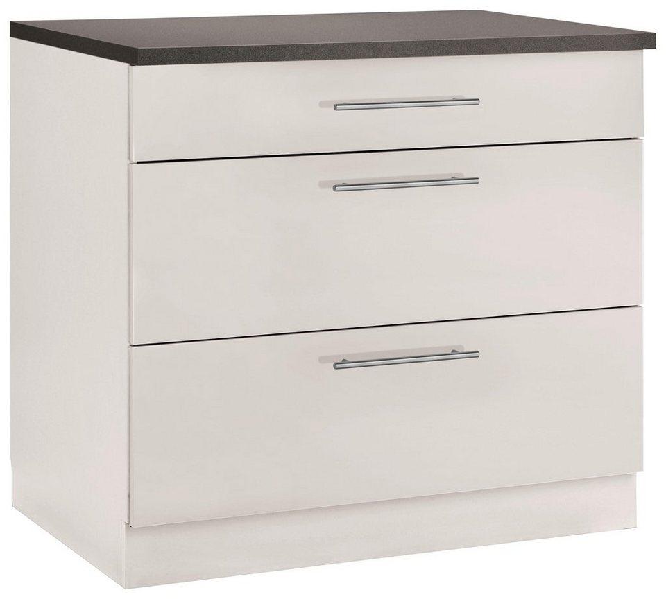 Full Size of Küchenunterschrank Wiho Kchen Unterschrank Cali 90 Cm Breit Wohnzimmer Küchenunterschrank