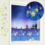Scheibengardine Kinderzimmer Sterne Schmetterling Ikea Bonprix Lila Meterware Tiere Elefant Eule Kindergardine Led Nachtlicht Sternenhimmel Kinder Regale Regal Kinderzimmer Scheibengardine Kinderzimmer