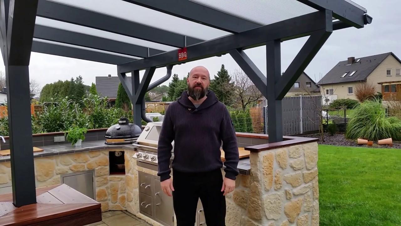 Full Size of Outdoor Küche Outdoorkche Der Ort Des Geschehens Steakthatcom Youtube Gebrauchte Kaufen Deckenleuchte Einbauküche Gebraucht Sitzecke Ohne Geräte Wohnzimmer Outdoor Küche