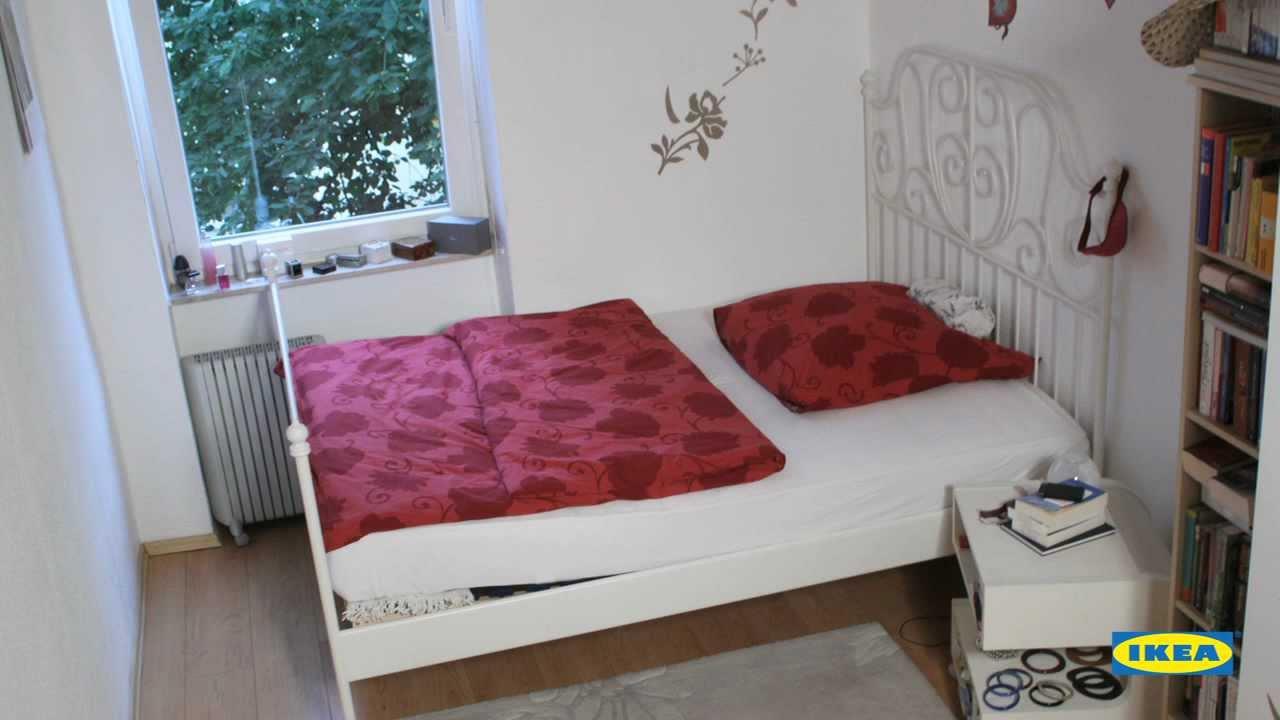 Full Size of Ikea Schlafzimmer Ideen Verwirklicht Mit Ausstrahlung Youtube Wandtattoo Kommoden Betten 160x200 Loddenkemper überbau Vorhänge Nolte Deckenlampe Wandlampe Wohnzimmer Ikea Schlafzimmer Ideen
