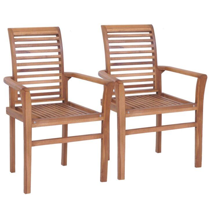Medium Size of Esstischsthle 4 Stk Stapelbar Teak Massivholz Gitoparts Esstischstühle Esstische Esstischstühle