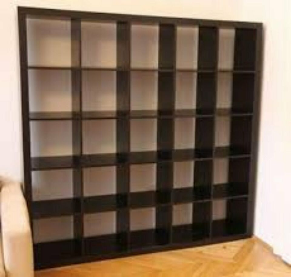 Full Size of Ikea Kallaexpedit Regal 25 Fcher In Schwarz Küche Kaufen Sofa Schlaffunktion Kosten Betten 160x200 Bei Wohnzimmer Raumteiler Ikea