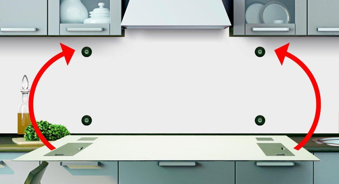Large Size of Rückwand Küche Anleitung Fachgerechte Befestigung Kchenrckwand Frag Mutti Salamander Schreinerküche Schwingtür Rosa Wandverkleidung Hochglanz Günstig Wohnzimmer Rückwand Küche