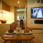 Küchenanrichte Wohnzimmer Küchenanrichte Ein Auto Wie Appartment Blick Vom Esszimmertisch Auf