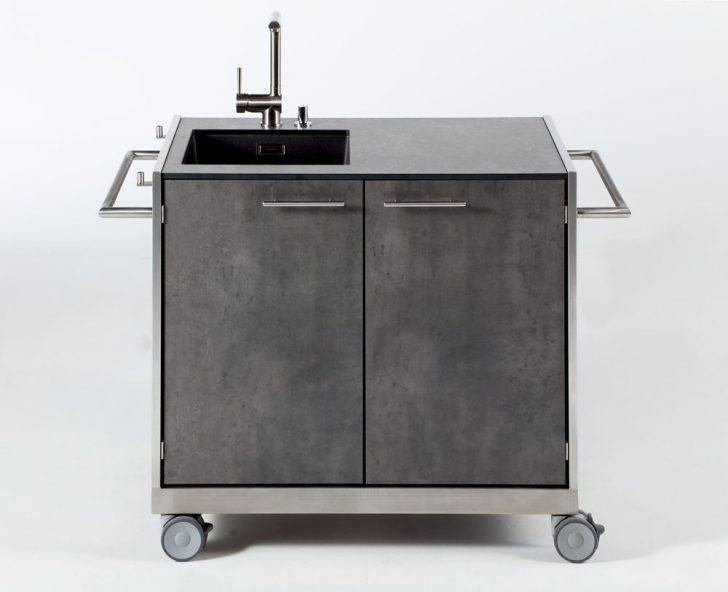 Medium Size of Outdoor Waschbecken Splwagen Kche Pro Hpl Manuu Mbel Badezimmer Küche Bad Keramik Edelstahl Kaufen Wohnzimmer Outdoor Waschbecken