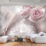 Fototapete Blumen Wohnzimmer Fototapete Blumenwiese Rosa Blumen Schlafzimmer 3d Komar Kaufen Weiss Fototapeten Aquarell Rosen Vintage Dunkel Vlies Rose Abstrakt Tapete Wandbild Xxl Küche