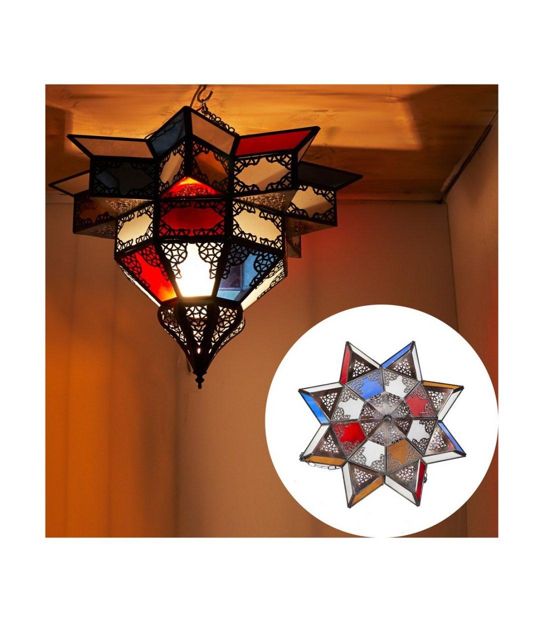 Large Size of Holzlampe Decke Arabische Lampe Mehrfarbige Kristalle Entwurf Wohnzimmer Deckenlampe Deckenleuchte Küche Deckenlampen Für Deckenleuchten Schlafzimmer Led Bad Wohnzimmer Holzlampe Decke