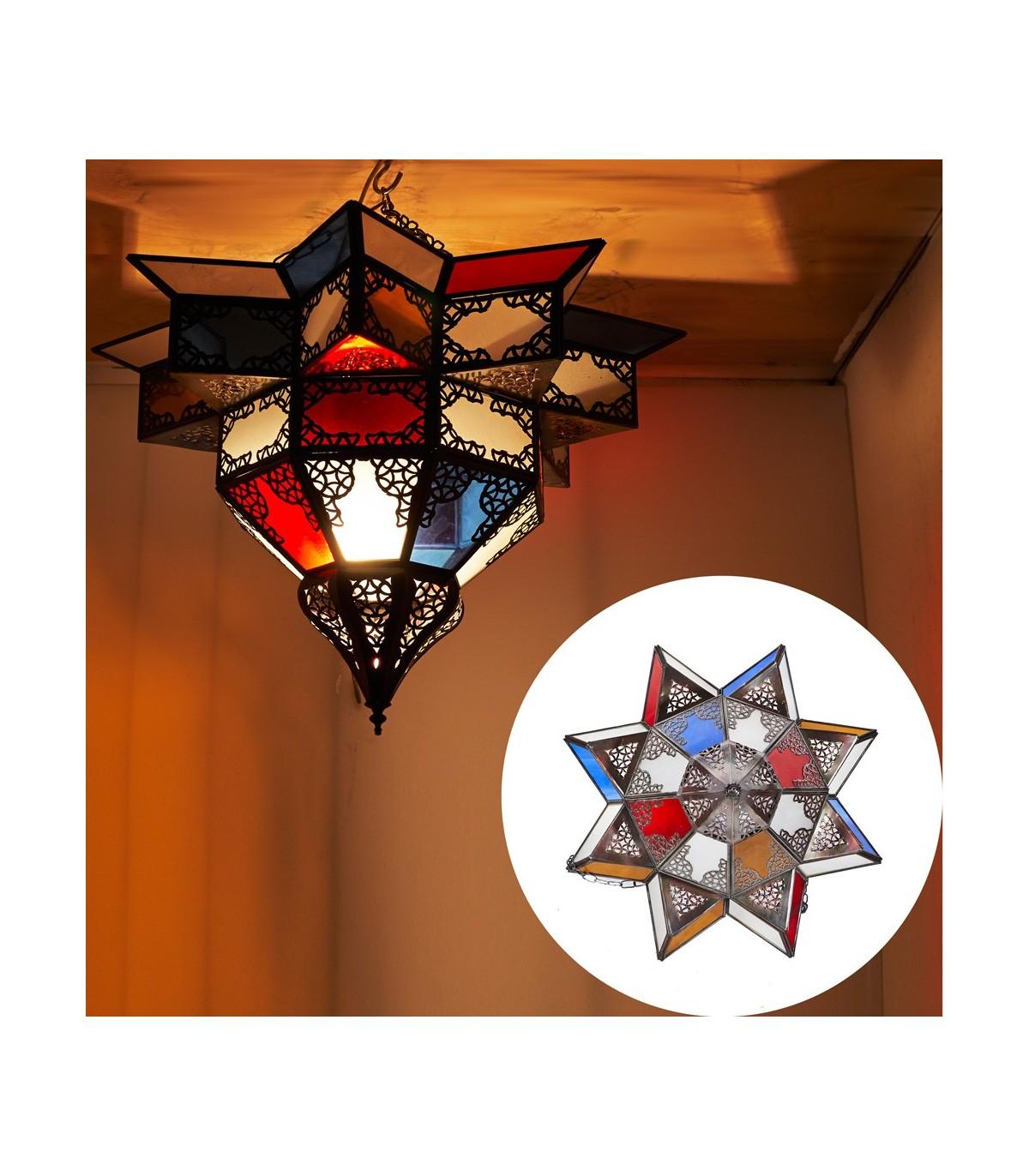 Full Size of Holzlampe Decke Arabische Lampe Mehrfarbige Kristalle Entwurf Wohnzimmer Deckenlampe Deckenleuchte Küche Deckenlampen Für Deckenleuchten Schlafzimmer Led Bad Wohnzimmer Holzlampe Decke