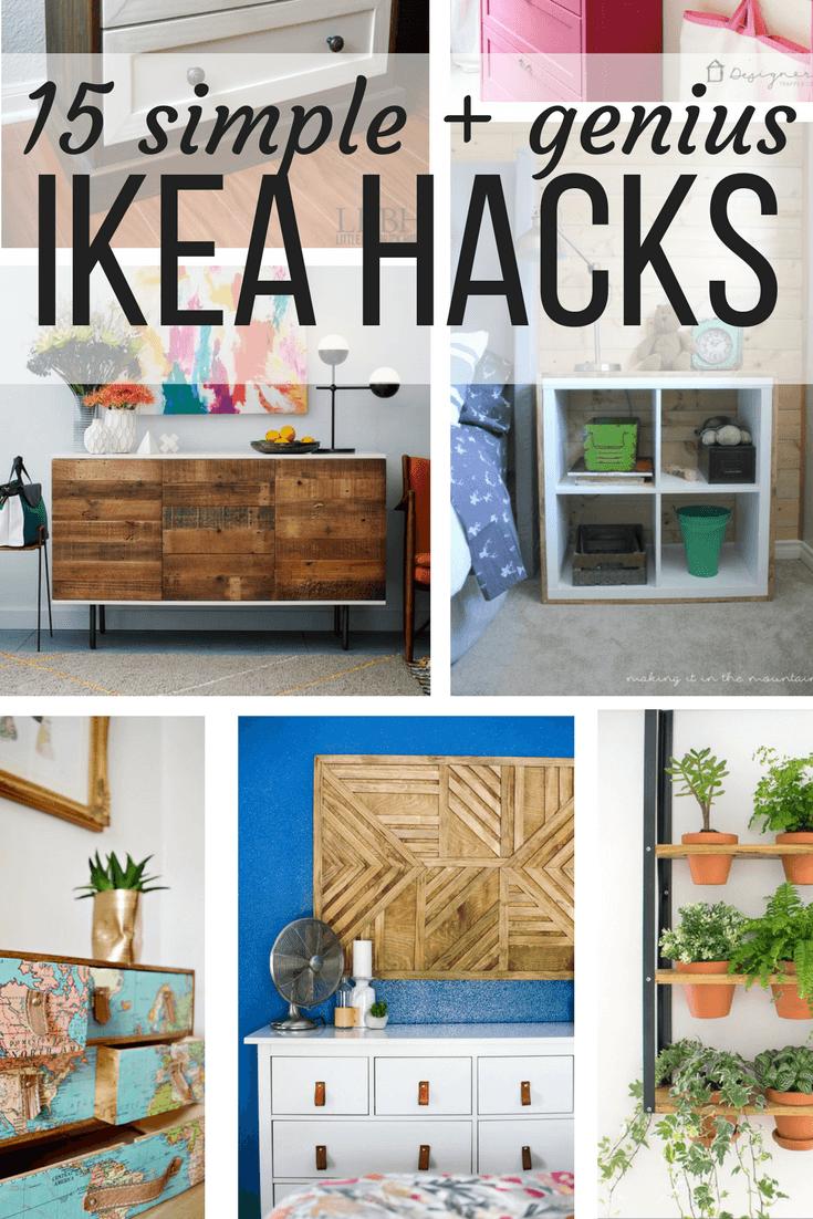 Full Size of Ikea Hacks Diy Ideas 15 Genius Love Renovations Betten 160x200 Küche Kaufen Miniküche Sofa Mit Schlaffunktion Kosten Modulküche Bei Wohnzimmer Ikea Hacks