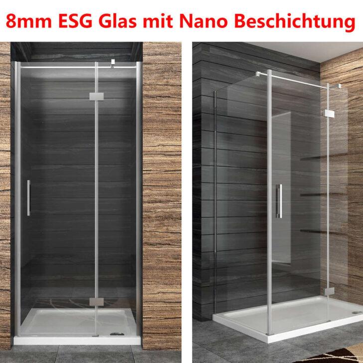 Medium Size of Duschkabine Duschabtrennung 8mm Nano Glas Duschwand Duschtr Mit Dusche Bodengleich Eckeinstieg Antirutschmatte Glaswand Bodenebene Nischentür Glasabtrennung Dusche Glaswand Dusche