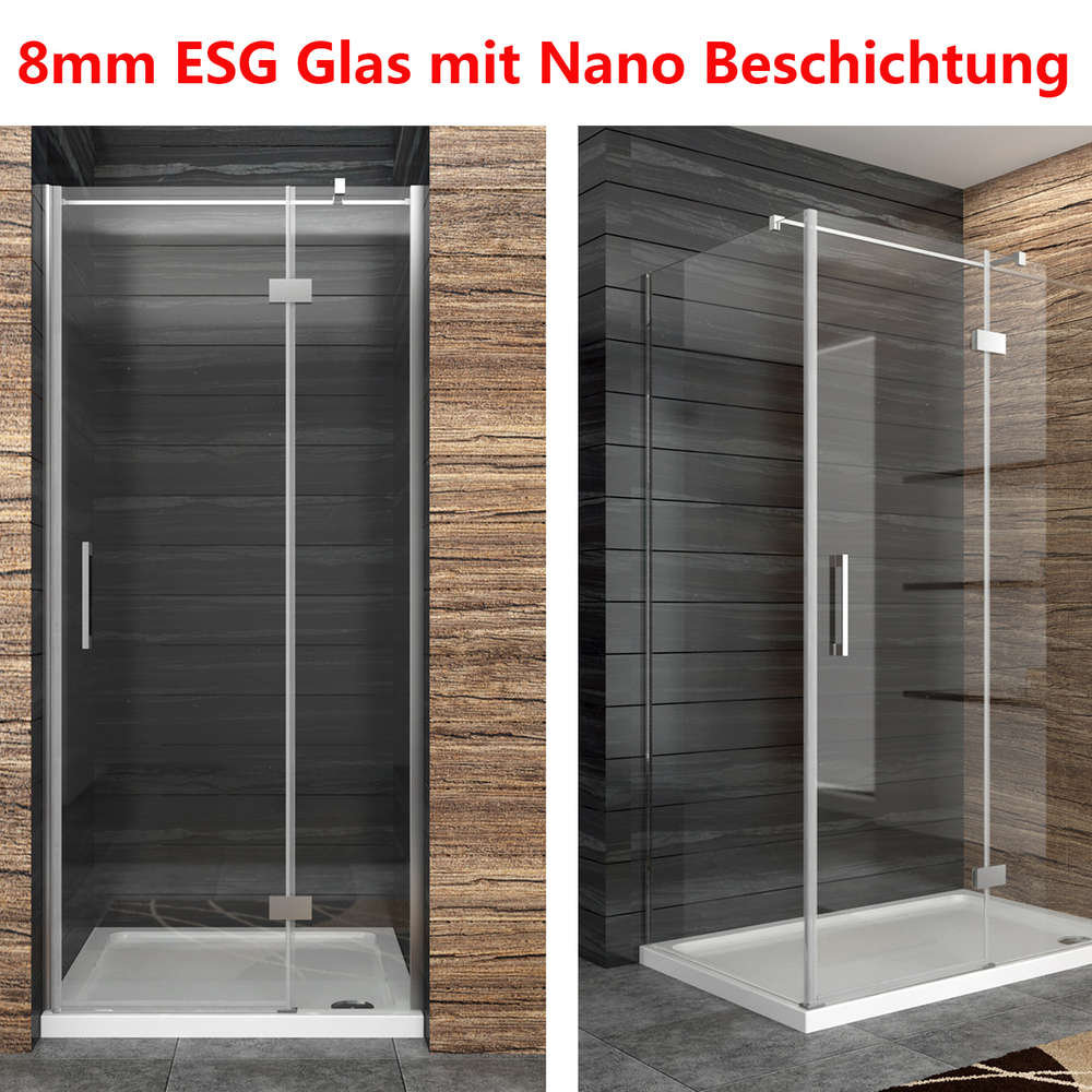 Full Size of Duschkabine Duschabtrennung 8mm Nano Glas Duschwand Duschtr Mit Dusche Bodengleich Eckeinstieg Antirutschmatte Glaswand Bodenebene Nischentür Glasabtrennung Dusche Glaswand Dusche