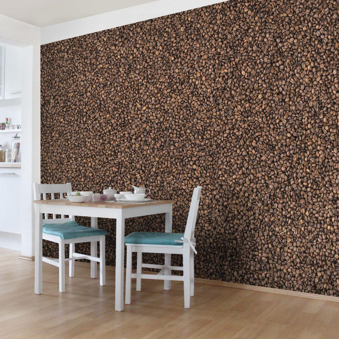 Large Size of Vliestapete Kchentapete Sea Of Coffee Fototapete Breit Wohnzimmer Küchentapete