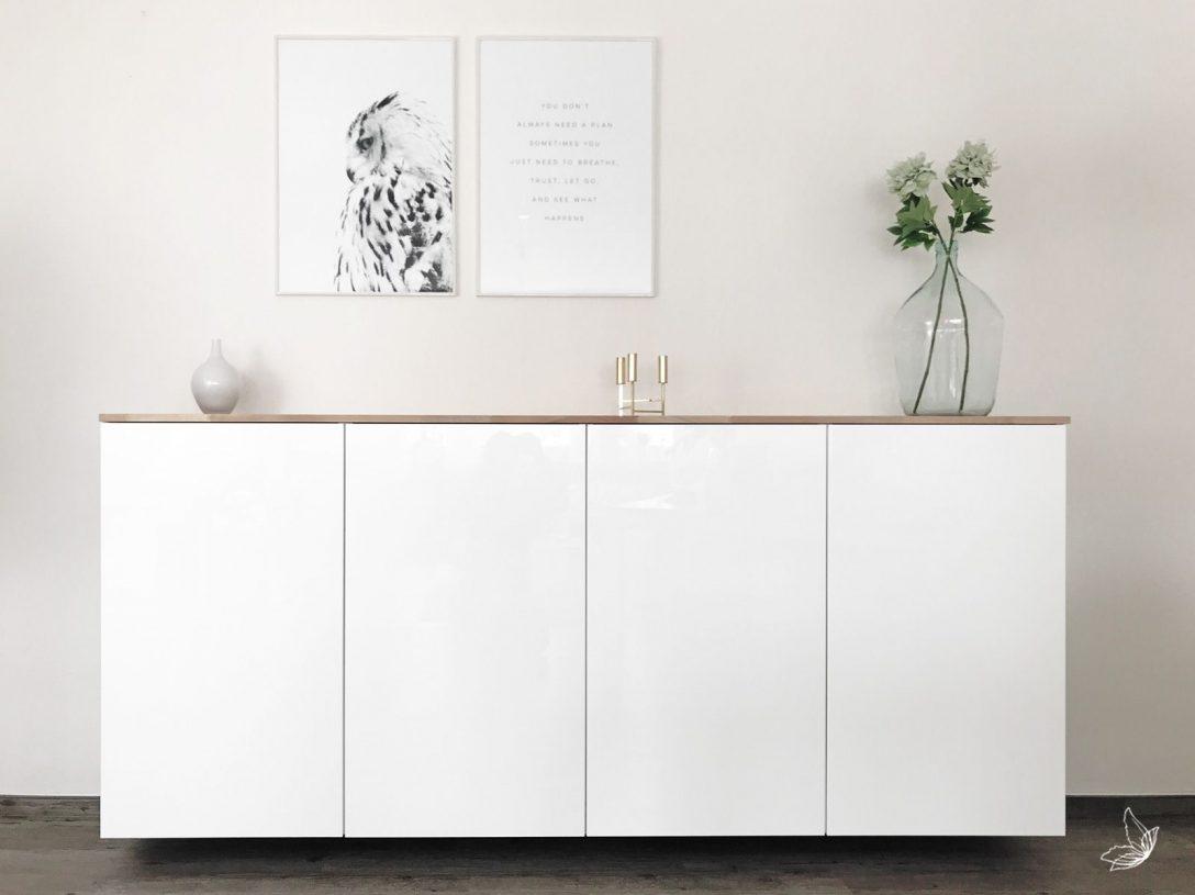 Large Size of Ikea Hack Metod Kchenschrank Als Sideboard Kche Küche Kaufen Kosten Betten 160x200 Wohnzimmer Mit Arbeitsplatte Miniküche Sofa Schlaffunktion Modulküche Bei Wohnzimmer Sideboard Ikea