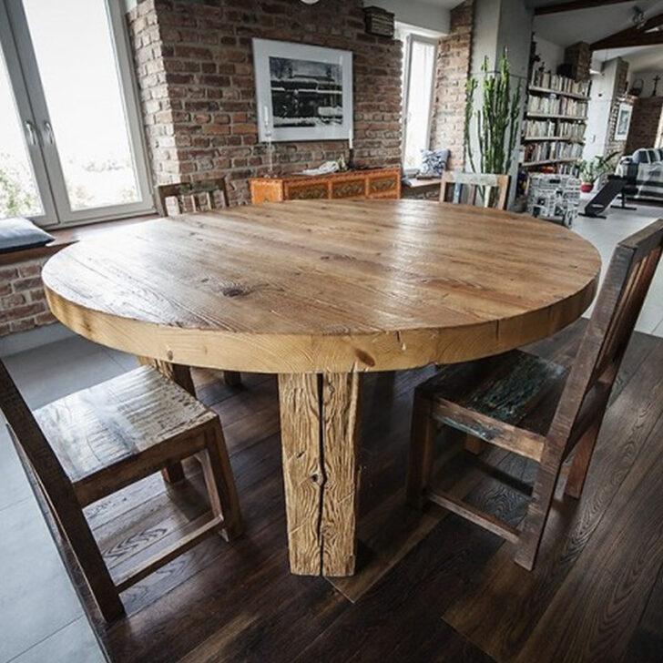 Medium Size of Runder Tisch Altes Holz Denove T1 Eagle Design Esstisch Massivholz Ausziehbar Ovaler Massiv Akazie Industrial Regal Naturholz Musterring Altholz Großer Esstische Esstisch Holz