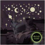 Sternenhimmel Kinderzimmer Leuchtender Wandsticker Von Roommates Regal Weiß Regale Sofa Kinderzimmer Sternenhimmel Kinderzimmer