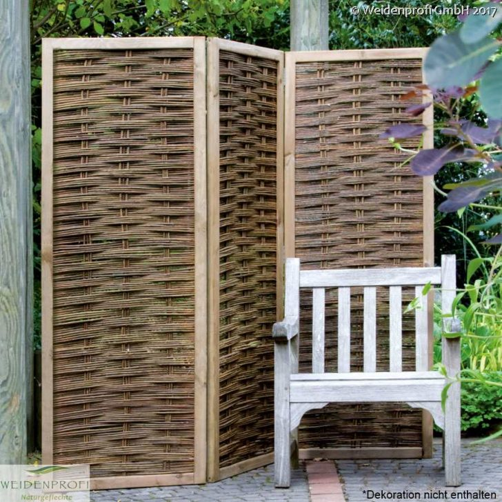 Medium Size of Weidenparavents Raumteiler Weide Paravent Garten Wohnzimmer Paravent Balkon