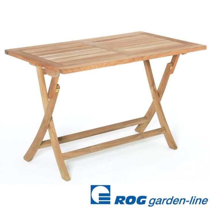 Medium Size of Gartentisch Klappbar Roggemann Teak Tisch 120x75 Cm Klapptisch Ausklappbares Bett Ausklappbar Wohnzimmer Gartentisch Klappbar