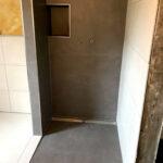 Fliesen Dusche Versiegeln Bad Mosaik Wand Rutschfestigkeitsklassen Rutschhemmung Naturstein Reinigen Boden Rutschfest Schimmel In Der Mit Hausmittel Ebenerdige Dusche Fliesen Dusche