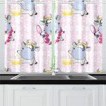 Küchenvorhänge Amazonde Reopniedliche Khe Wohnzimmer Küchenvorhänge