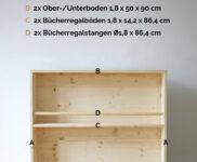Kinderzimmer Bücherregal
