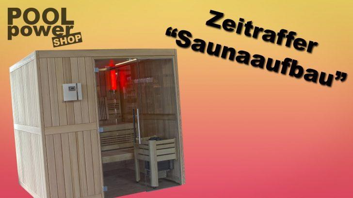 Medium Size of Sauna Selber Bauen Im Zeitraffer Youtube Bett Zusammenstellen Einbauküche Regale Fliesenspiegel Küche Machen 180x200 Velux Fenster Einbauen Bodengleiche Wohnzimmer Sauna Selber Bauen