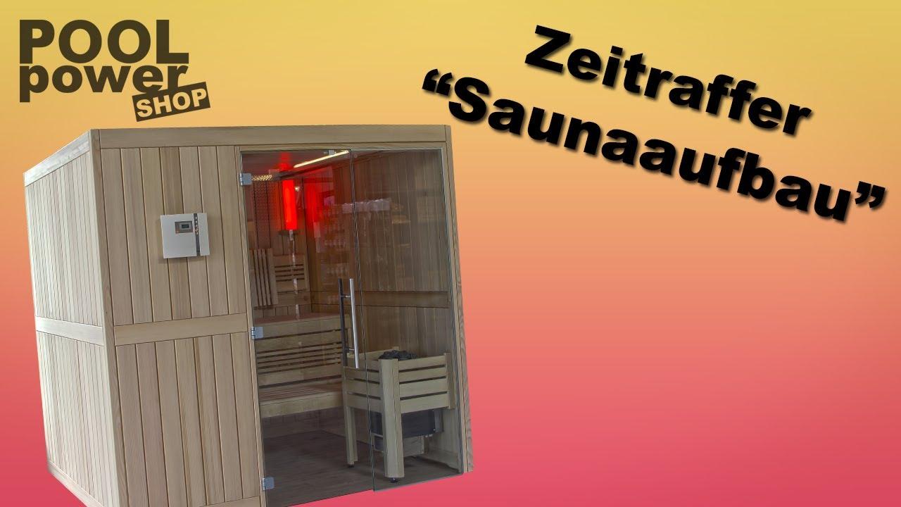 Full Size of Sauna Selber Bauen Im Zeitraffer Youtube Bett Zusammenstellen Einbauküche Regale Fliesenspiegel Küche Machen 180x200 Velux Fenster Einbauen Bodengleiche Wohnzimmer Sauna Selber Bauen