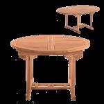 Gartentisch Holz Ausziehbar Mbilia Ca 120 Cm Teakholz Massiv Tisch Rund Fliesen In Holzoptik Bad Küche Weiß Garten Holzhaus Massivholz Regal Spielhaus Kind Wohnzimmer Gartentisch Holz Ausziehbar