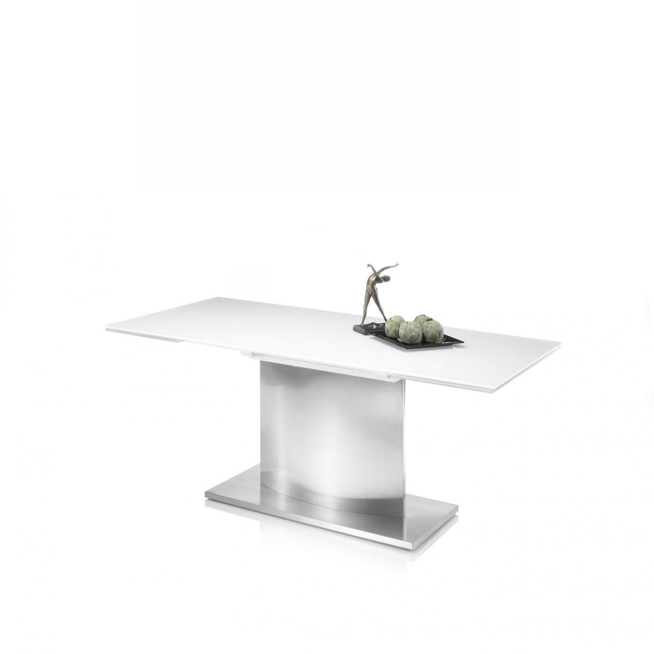 Full Size of Glas Esstisch Igor Super White Edelstahl Ausziehbar Tisch Sthle Kolonialstil Betonplatte Rustikal Landhaus Klein Quadratisch Mit Bank Kaufen Vintage Esstische Glas Esstisch
