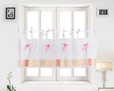 Scheibengardinen Kinderzimmer Kinderzimmer Scheibengardinen Kinderzimmer Fenstervorhang Blumen Fenstergardine Sofa Küche Regale Regal Weiß