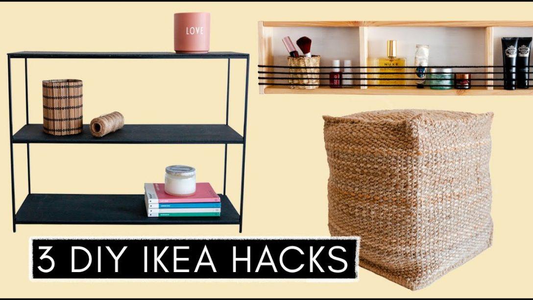 Large Size of Küchenregal Ikea 3 Diy Hacks Pouf Betten 160x200 Küche Kaufen Sofa Mit Schlaffunktion Kosten Bei Modulküche Miniküche Wohnzimmer Küchenregal Ikea