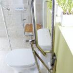 Barrierefreies Bad Altersgerecht Behindertengerecht Pflegede Abfluss Dusche 90x90 Zuschuss Behindertengerechtes Schiebetür Glastür Bodengleiche Einbauen Dusche Behindertengerechte Dusche
