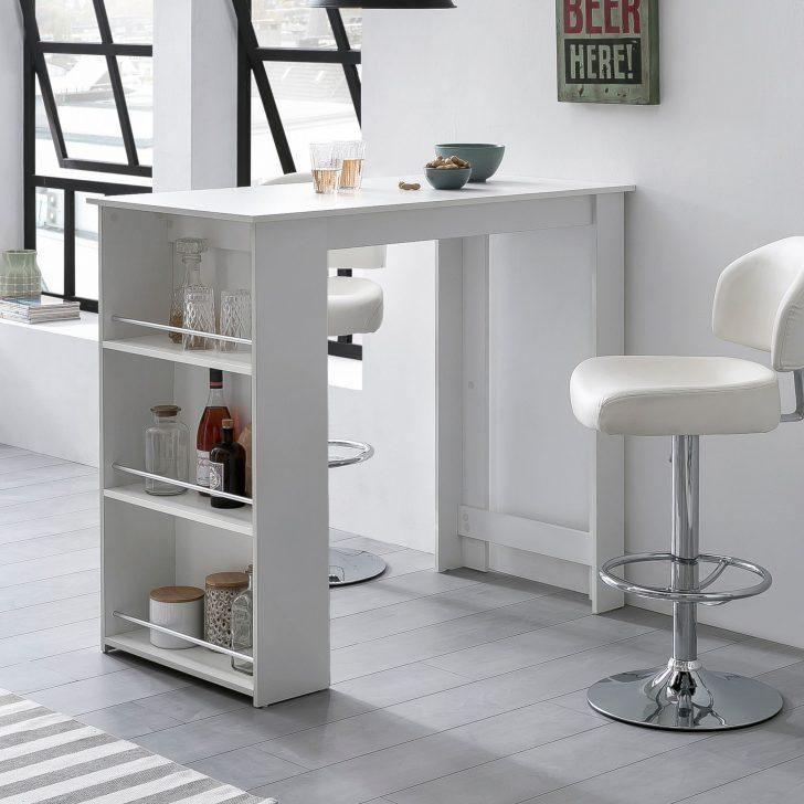Medium Size of Küchenbartisch Bartisch Wei 120 Online Kaufen Wohnzimmer Küchenbartisch